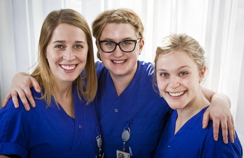 Sjuksköterskorna är en viktig yrkesgrupp